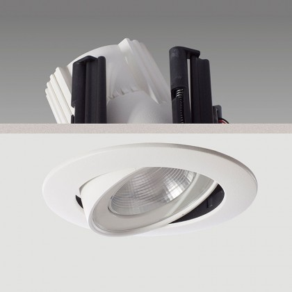 Antares Maxi LED : Recessed mounting energy efficient downlighter