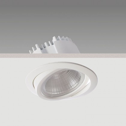 Antares Midi LED : Recessed energy efficient downlighter