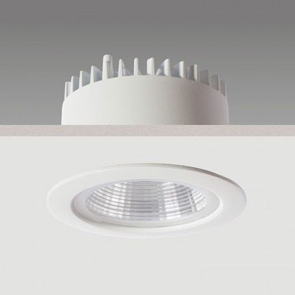 Neptune Midi LED : recessed downlighter