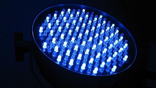 LED data transfer
