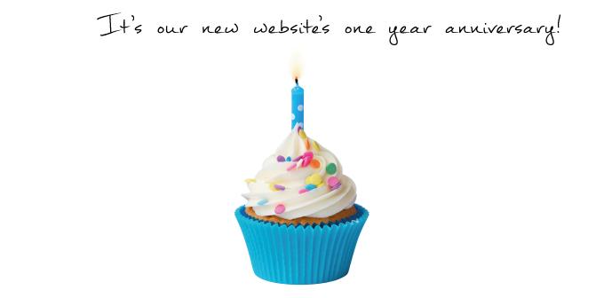 New Website's One Year Anniversary!